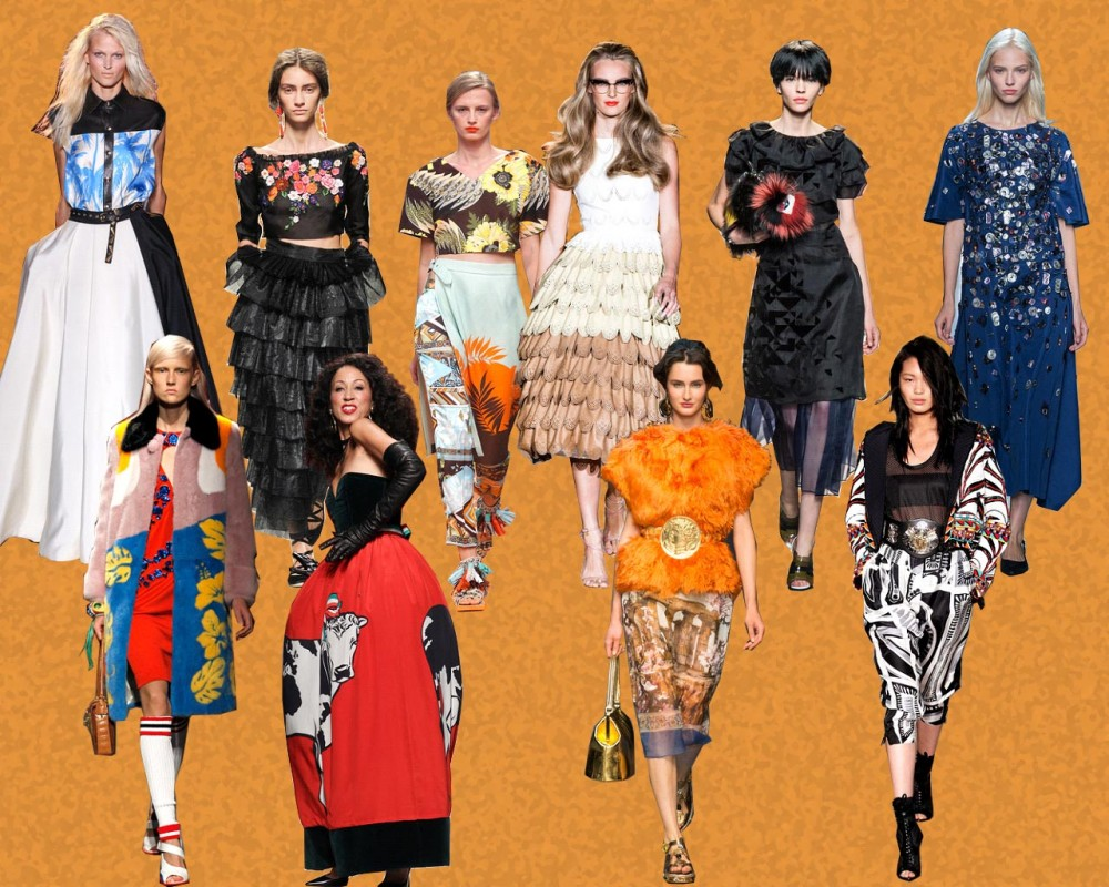 TREND-COLUMN Part 1 <br> Funny Opulence auf der Mailand Fashion Week