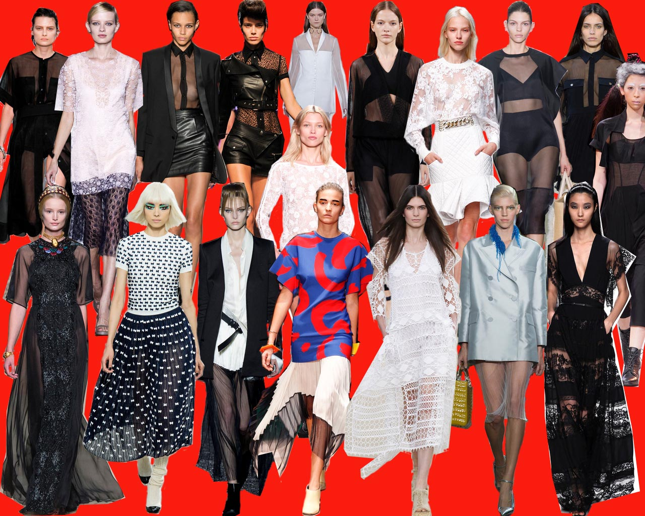 TREND-COLUMN Part 1 <br> Transparenz auf der Paris Fashion Week