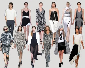 TREND-COLUMN Part 1 <br> Black&White auf der New York Fashion Week
