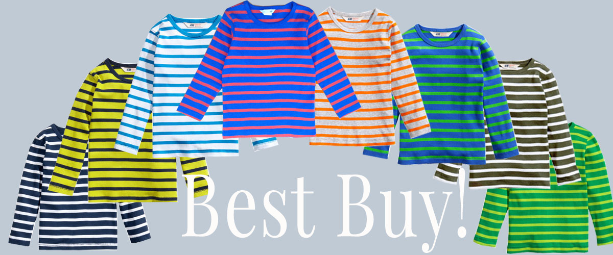 BEST BUY! <Br> Ringelshirts for Kids