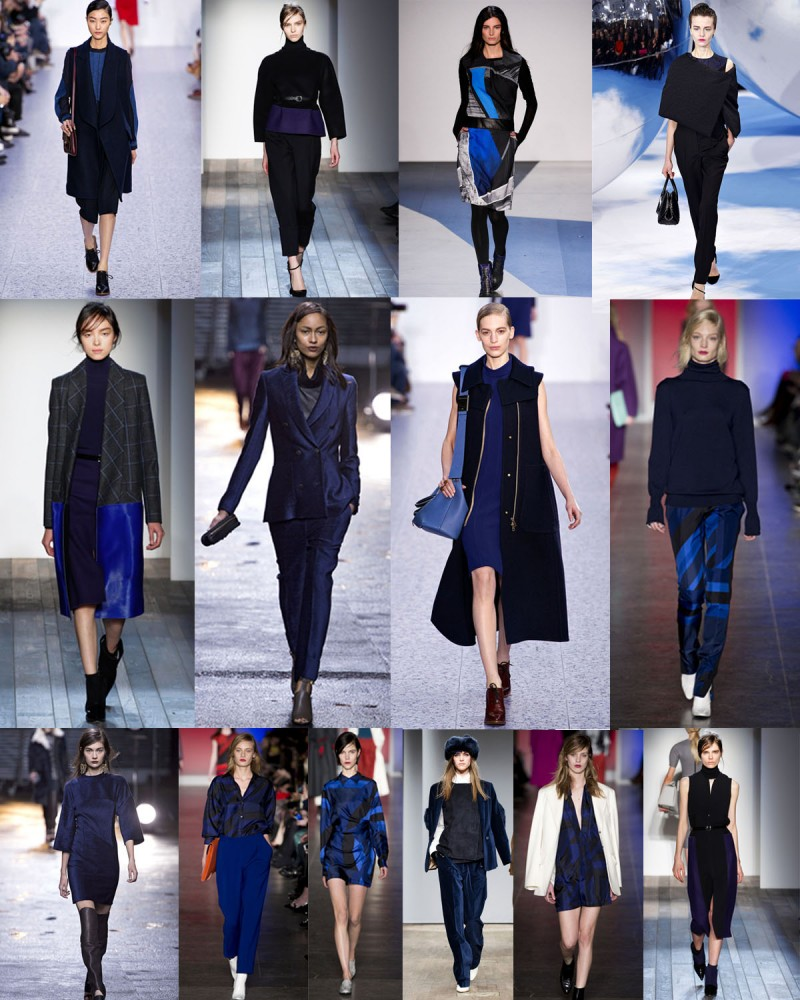 TREND OF THE WEEK<br> Blauschwarz