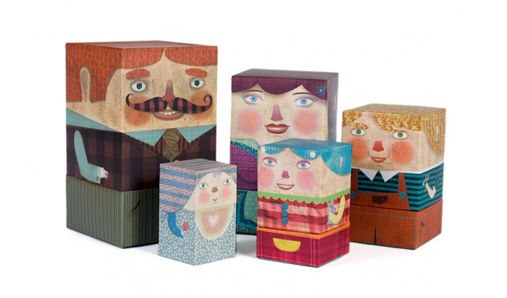 Eine schrecklich nette Familie <b> Londji Family Box