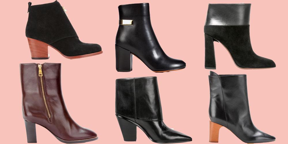 black booties 2 block