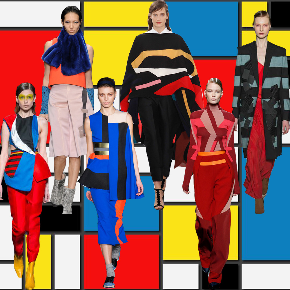 London Fashion Week Trend Pop-Art