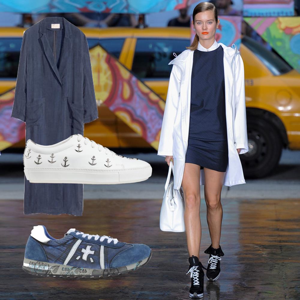 H&M Acne Coat Sneaker