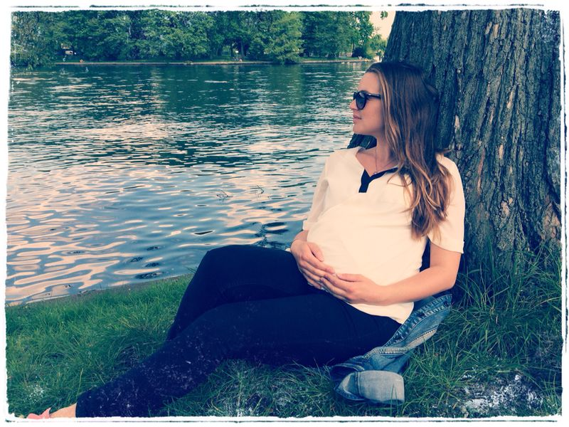 Warten aufs Baby