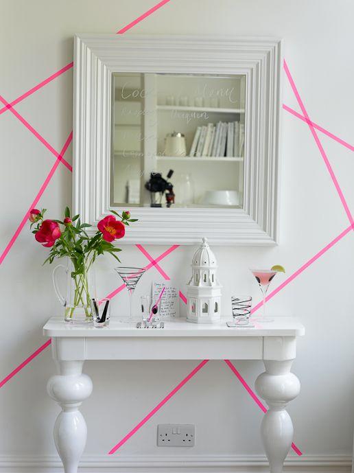 diy masking tape mummy mag. Black Bedroom Furniture Sets. Home Design Ideas
