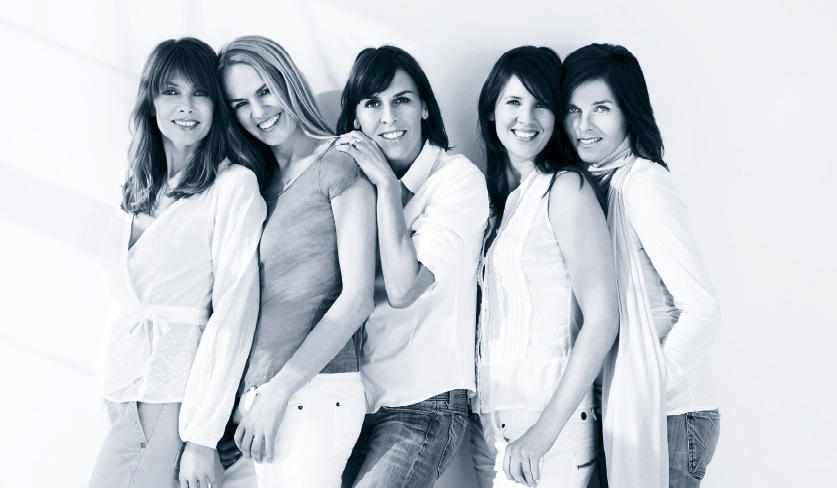 Die fünf Bellybutton-Gründerinnen