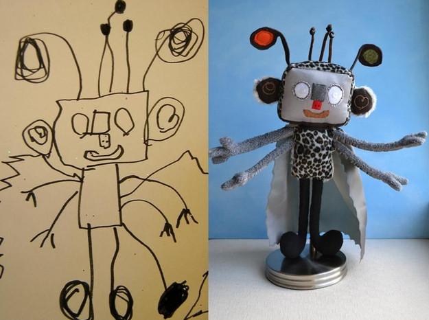 Robot Softtoy