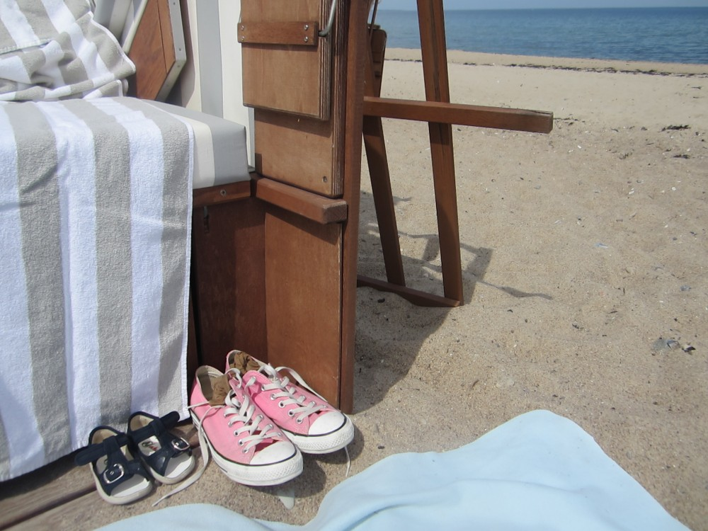 Chucks on the Beach in Weissenhaus