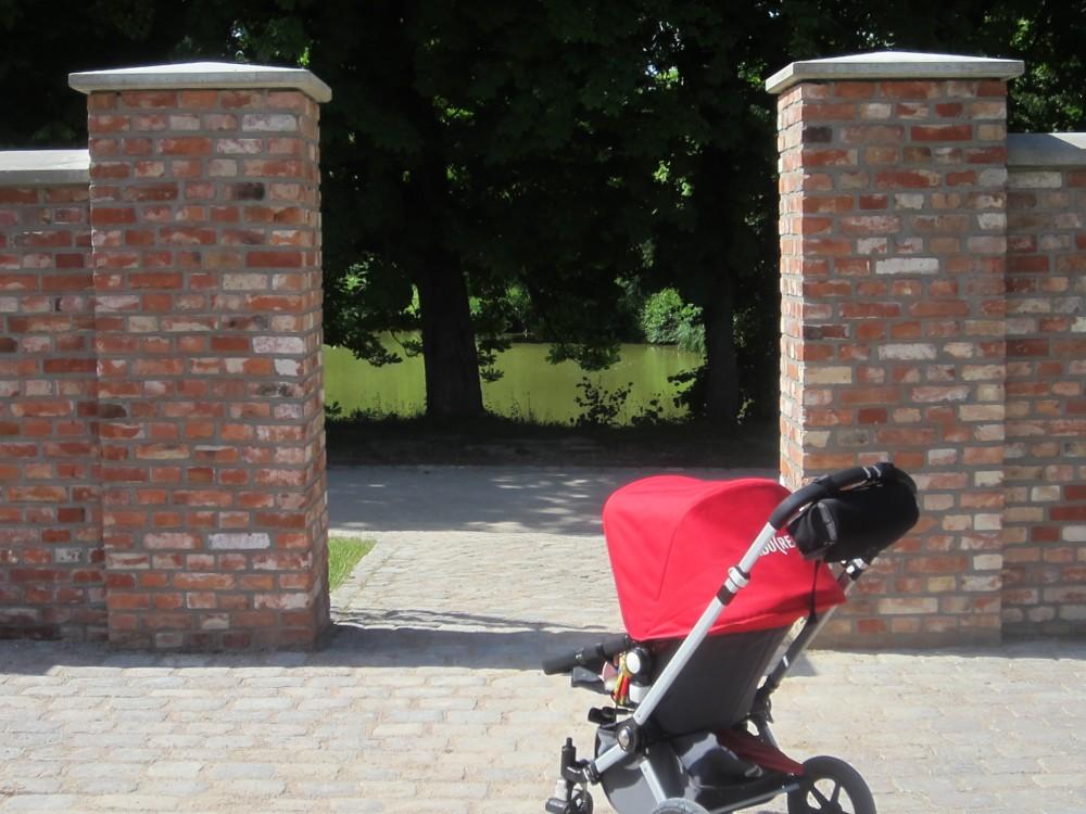 Spaziergänge mit dem Bugaboo in Weissenhaus