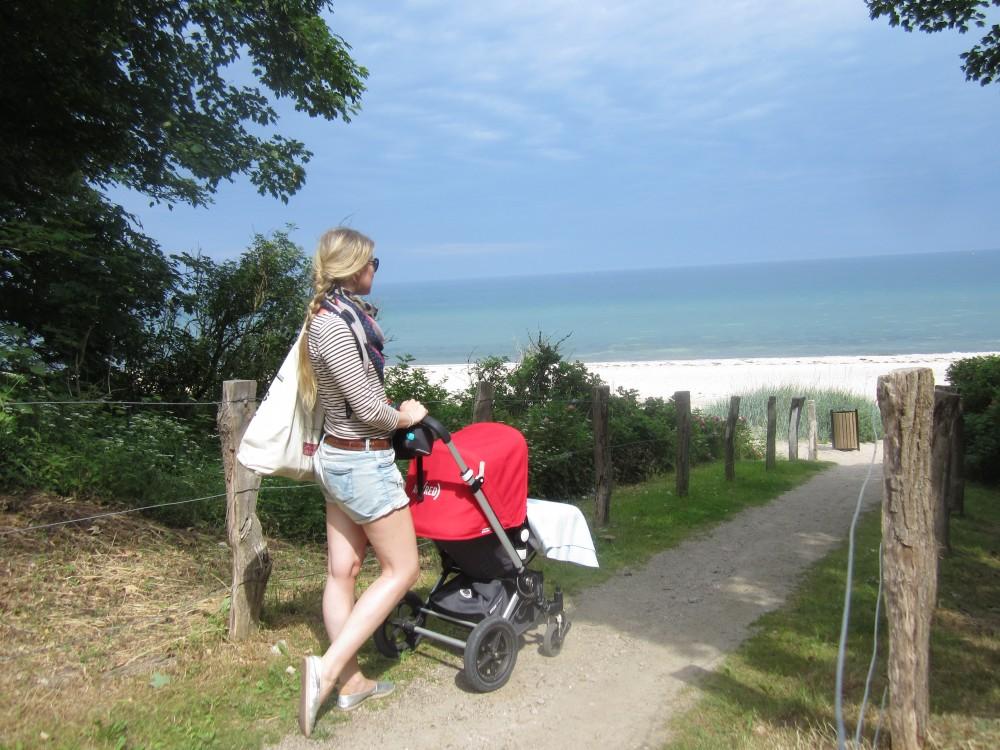 Bugaboo at the beach, Weissenhaus an der Ostsee