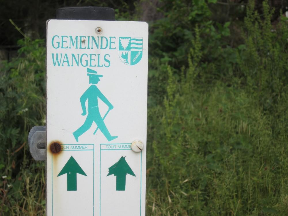 Wanderpfade in Weissenhaus, Gemeinde Wangels
