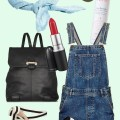 Spielplatz Outfit Mama