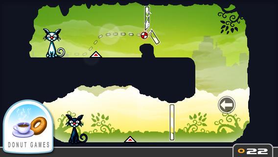 Kinder App Cat Physics