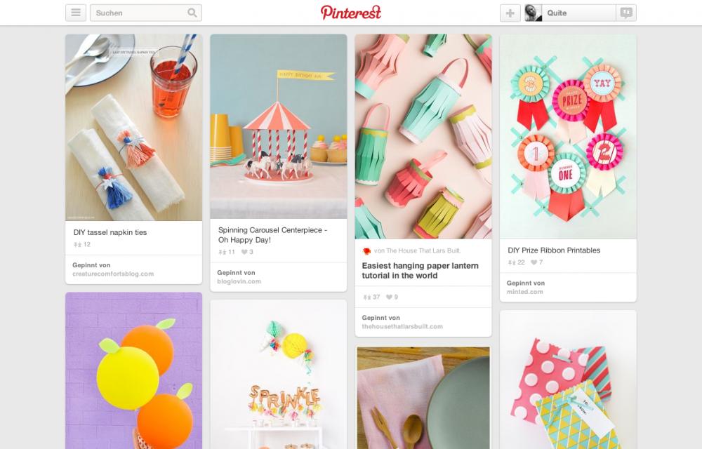 Pinterest DIY von mark and graham