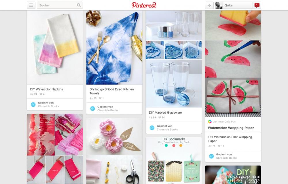 Pinterest DIY von chronicle books