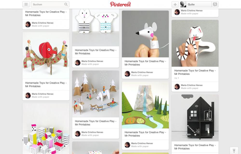 Pinterest DIY Mr. Printables