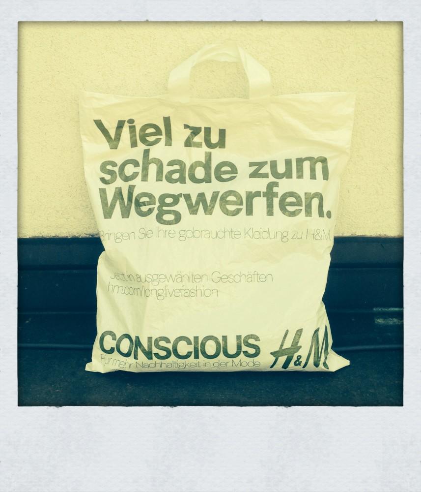 Viel zu schade... H&M Conscious