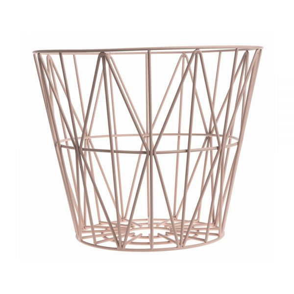 Ferm Living Korb Wire Rose