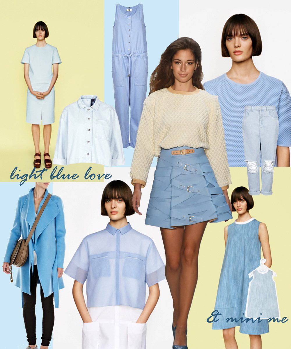 light blue mit mini me