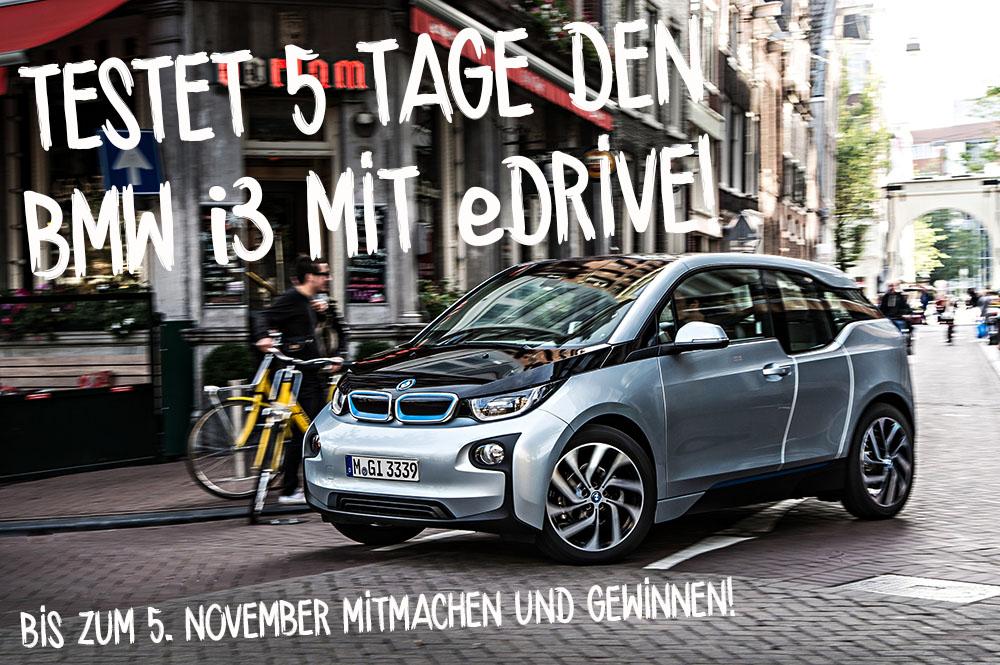 BMW i3, eDrive, Fahrtest