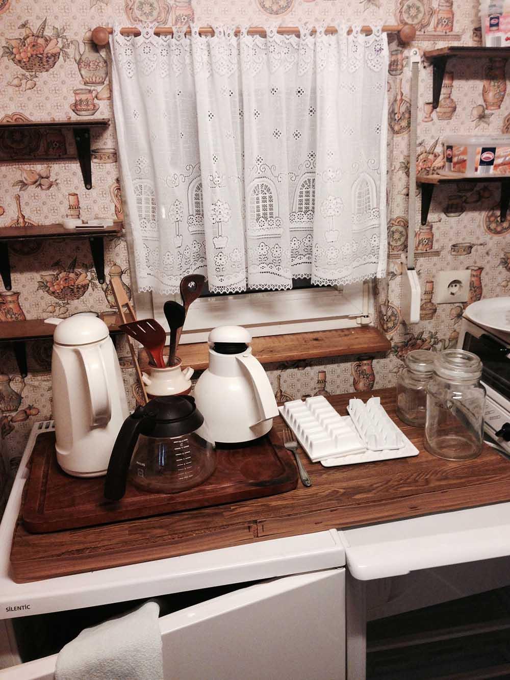 Schrebergarten Küche