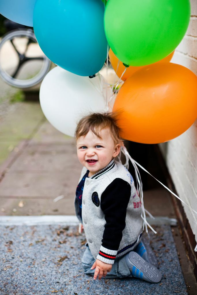 Xaver, der Sohn von Isabel (Little Years) beim Zalando Shooting