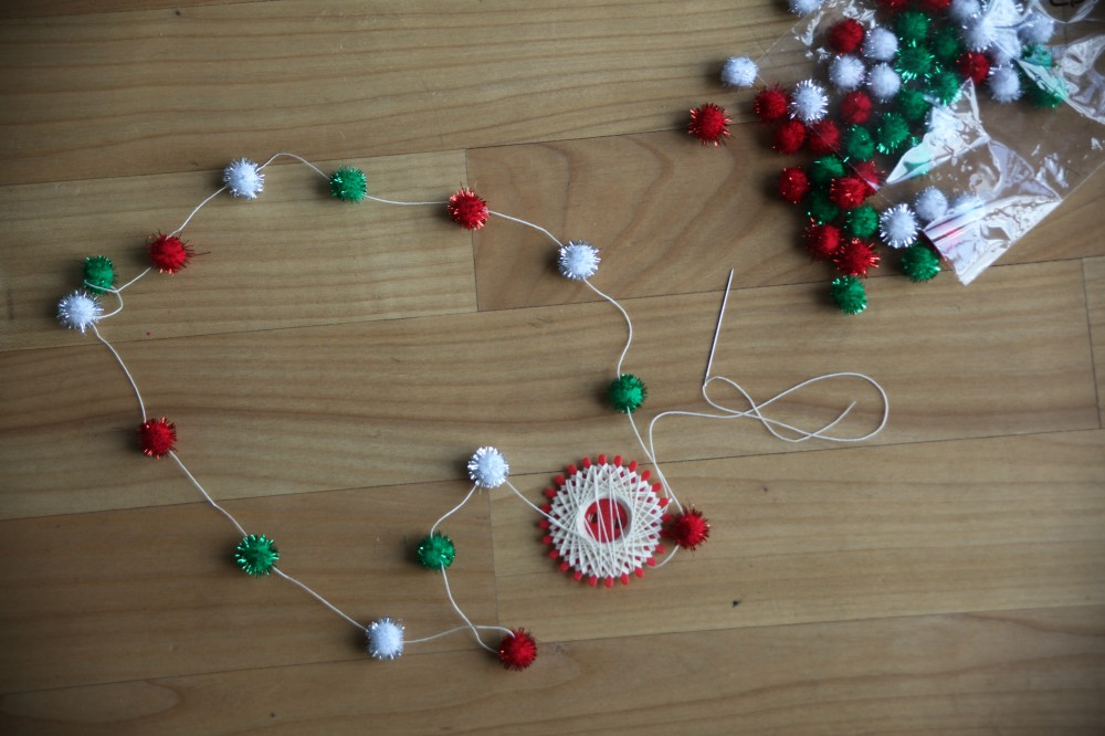 DIY Adventskalender Masking Tree by Mummy Mag