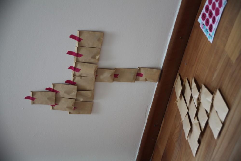 DIY Adventskalender Masking Tree by Mummy Mag