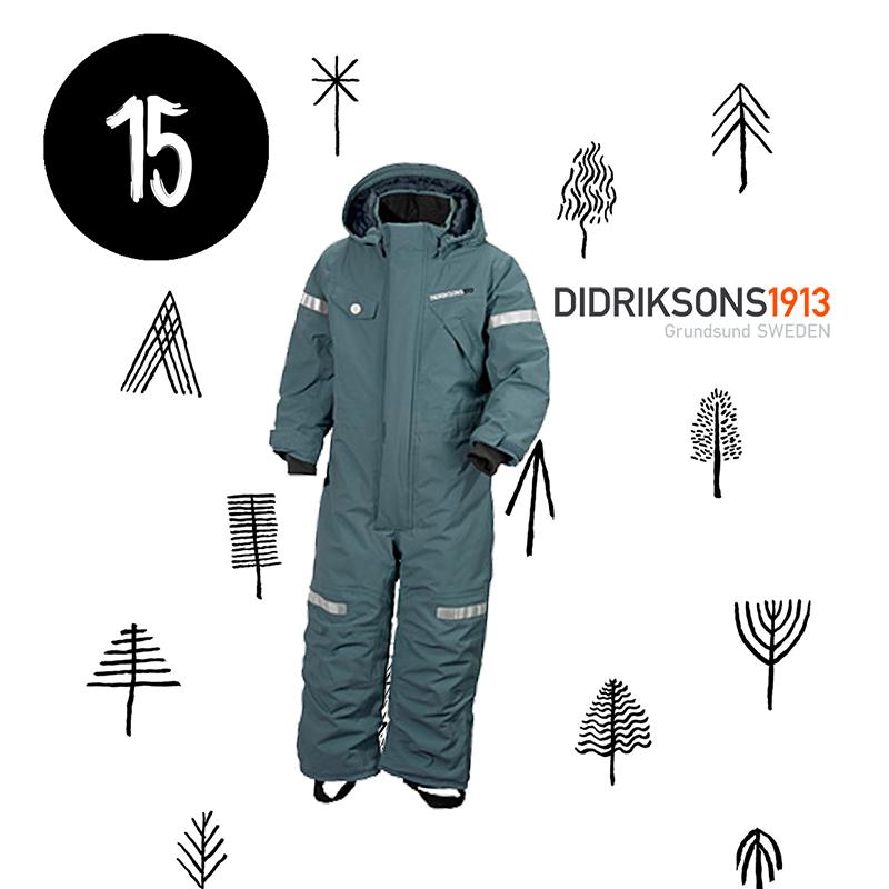 Adventskalender / Didriksons Schneeanzug