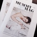 "Say ""hello"" to our newborn <br> MUMMY MAG Paper"