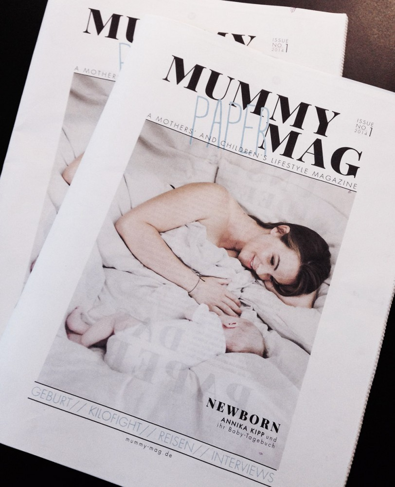 Mummy Mag Paoer / First printed issue