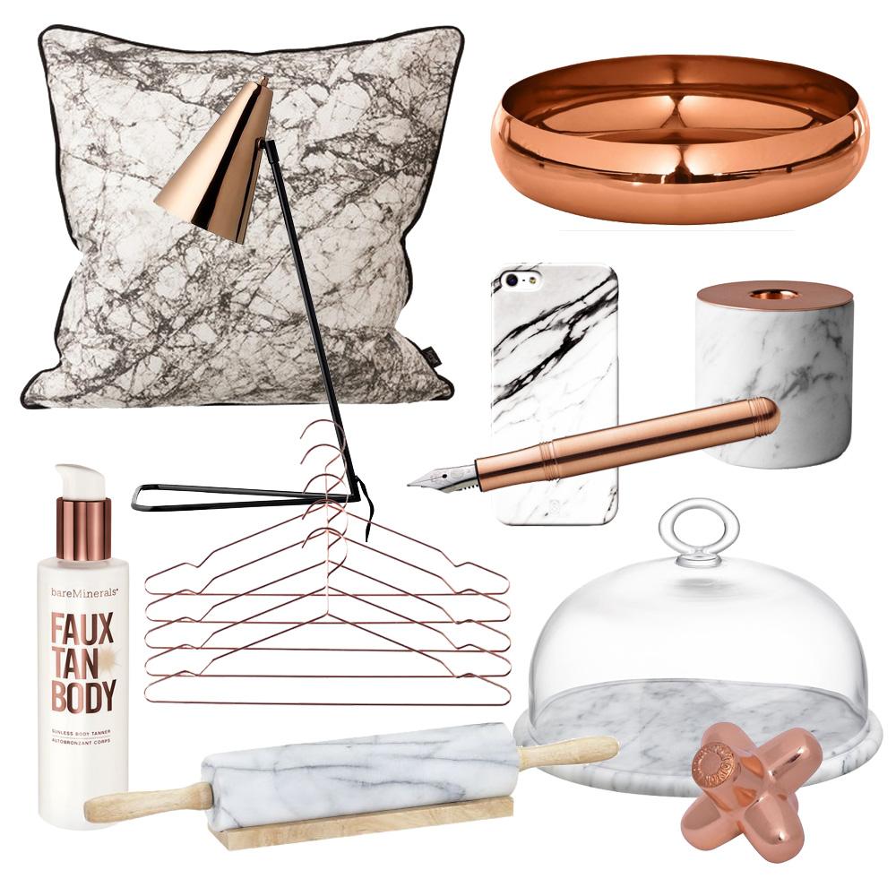 Kupfer & Marmor