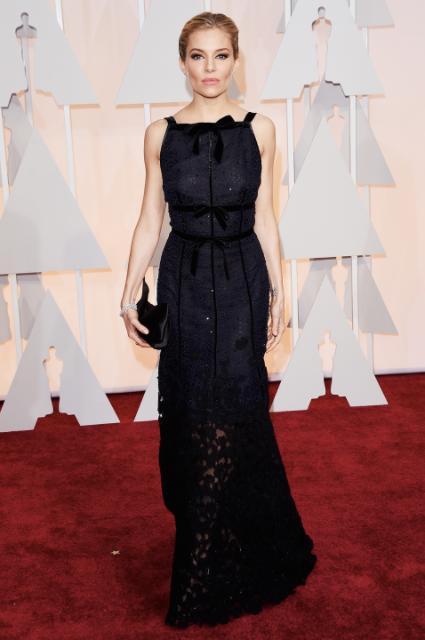 Sienna Miller @ The Oscars 2015