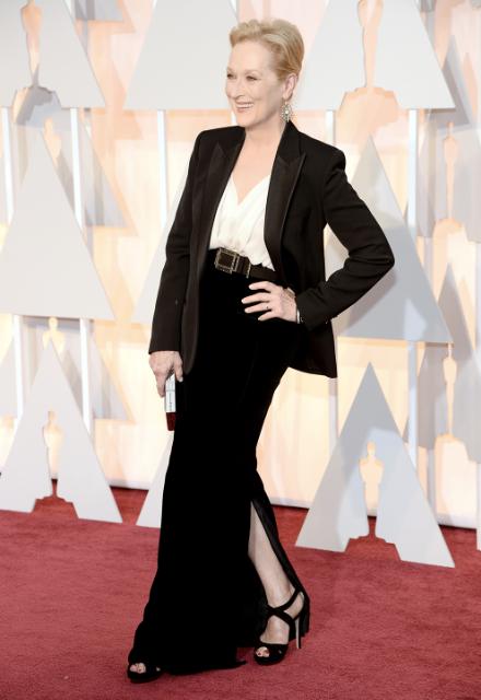 Meryl Streep @ The Oscars 2015