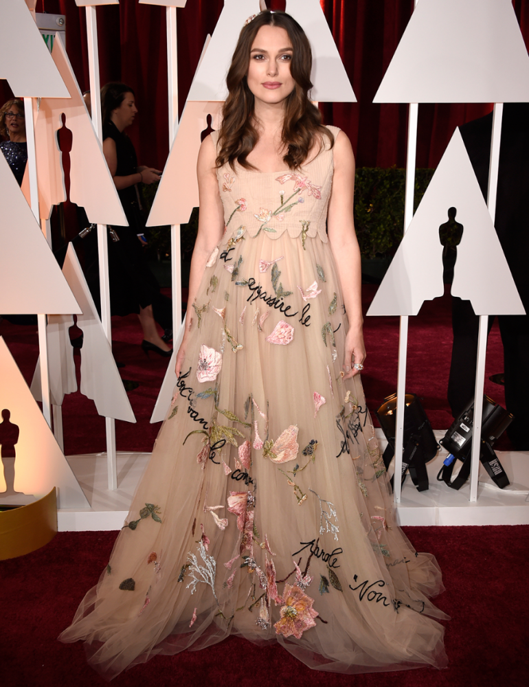 Keira Knightly @ The Oscars 2015