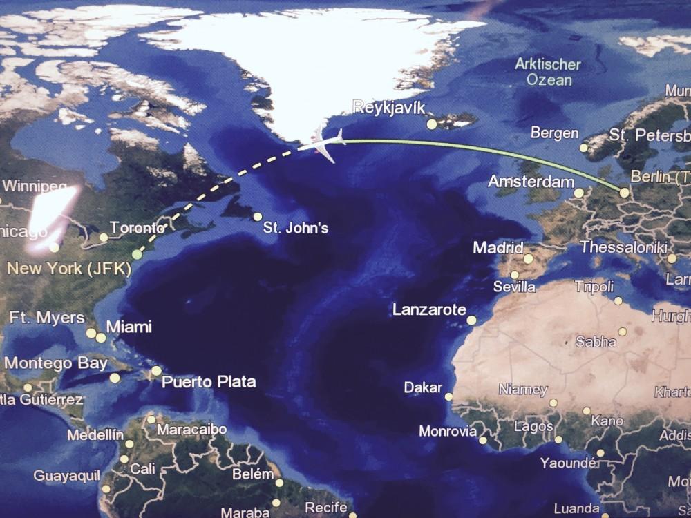 20.000 Meilen über dem Meer