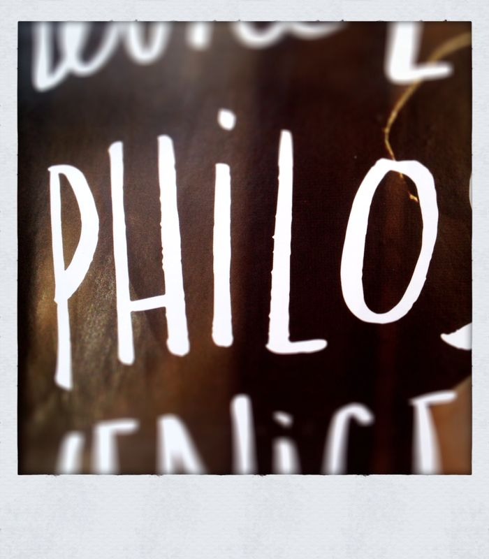 The day that… <br>Philo was born!