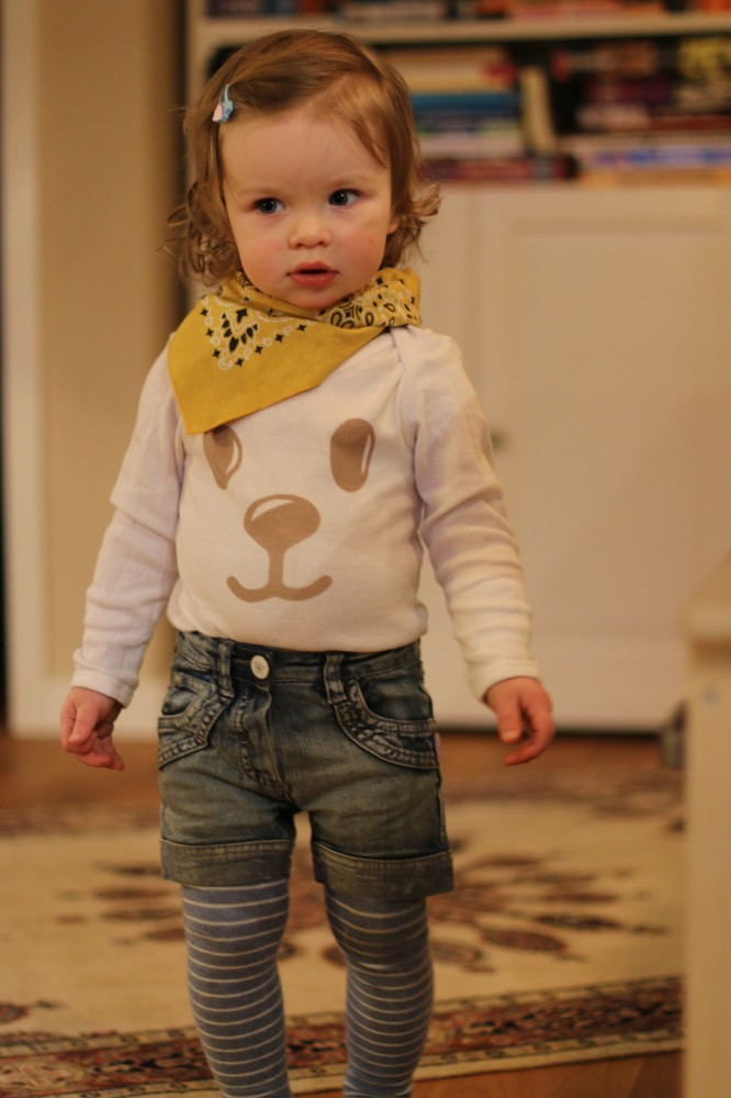 Izzy in Ernstings family organic cotton body @ Mummy Mag