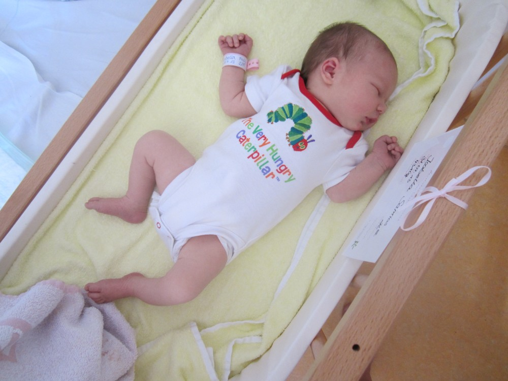 The day that… <br> Izzy was born!