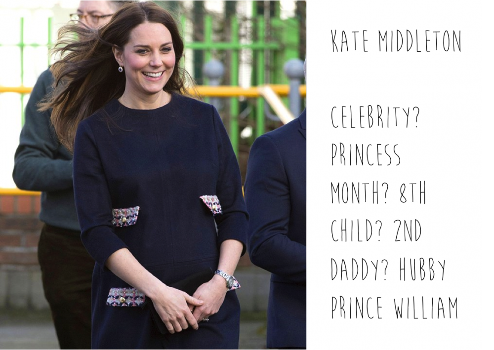 Pregnant Kate Middleton spotted by Mummy Mag