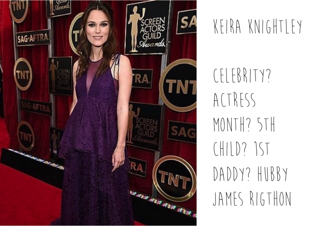 Pregnant Keira Knightley spotted by Mummy Mag