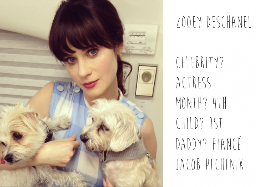 Pregnant Zooey Deschanel spotted by Mummy Mag
