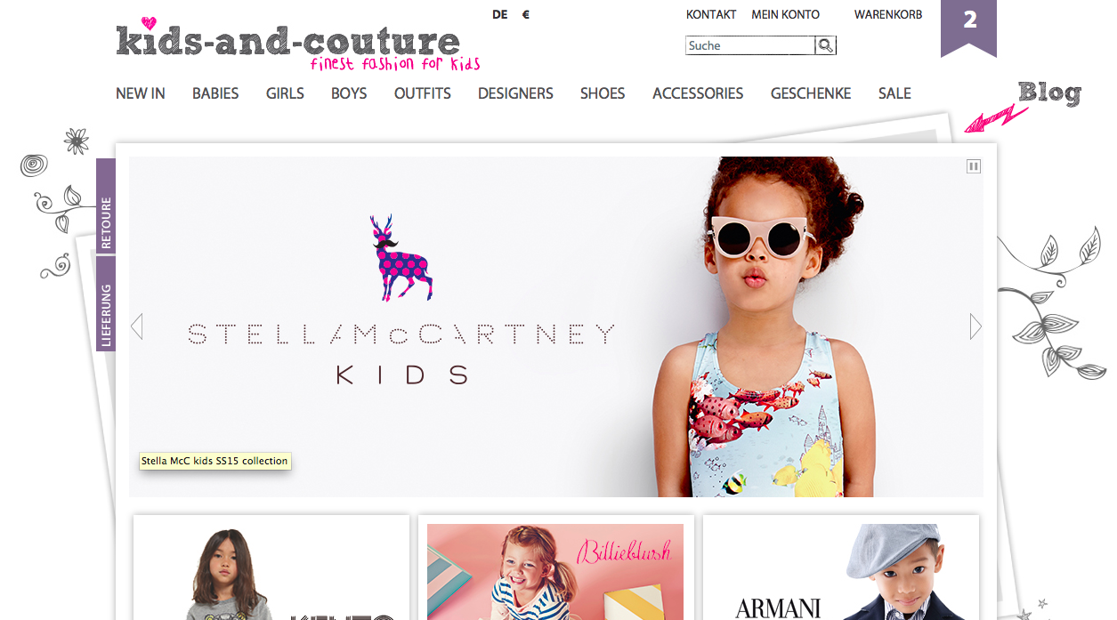 kids-and-couture Onlineshop StellaMcCartney Kenzo