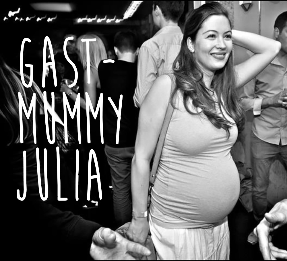 Geburtsgeschichte, Julia, Gast-Mummy, The day that...