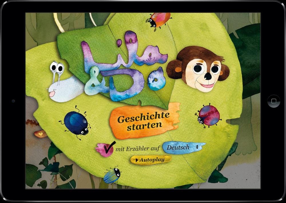 """""""Lila & Do"""" <br> ein Digitales Kinderbuch"""