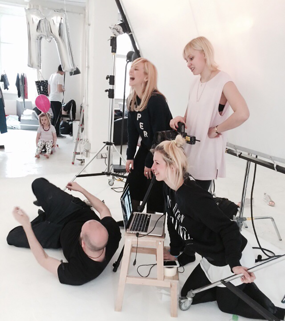 Shooting, Mummy Mag Paper, Team, Happy, Aveda, Bestseller