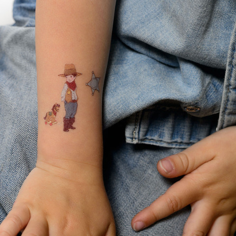 Temporäre Tattoos für Kinder bei Mummy Mag