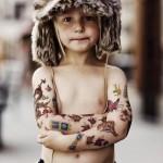 Temporäre Tattoos für Kinder bei Mummy Mag